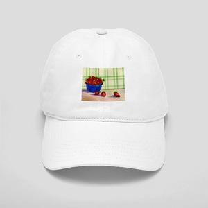 BOWL OF STRAWBERRIES Cap