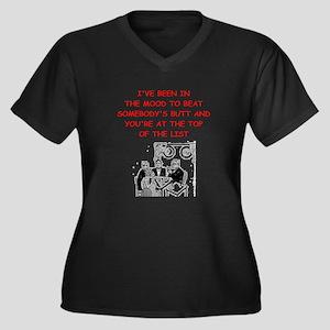 card player joke Plus Size T-Shirt