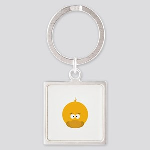 Duck Face Keychains