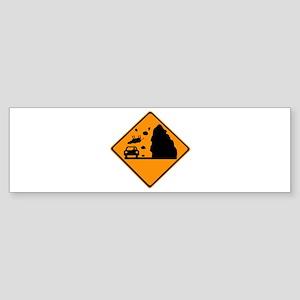 Cows Falling! Sticker (Bumper)