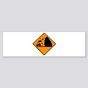 Cows Falling! Sticker (Bumper)