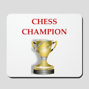 chess joke Mousepad