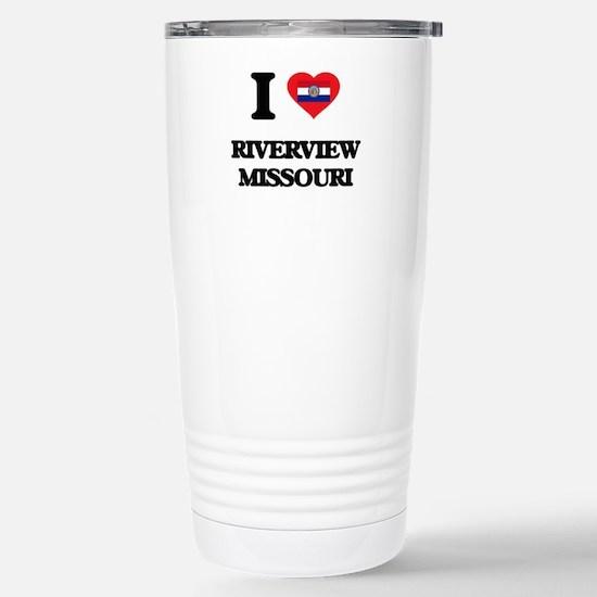 I love Riverview Missou Stainless Steel Travel Mug