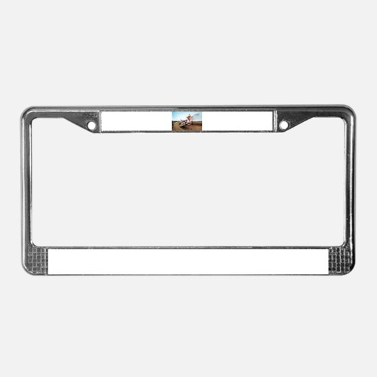 tc222pic License Plate Frame