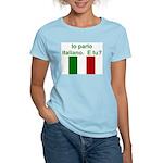Io parlo italiano/Women's Pink T-Shirt