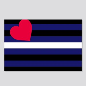 Leather Pride Flag Postcards (Package of 8)