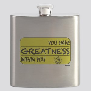 You Have Greatness Flask
