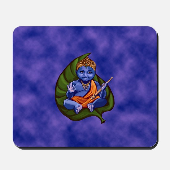 Baby Krishna Mouse Pad