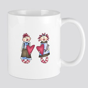 Raggedy Dolls Mugs