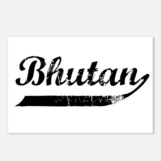 Bhutan Flanger Postcards (Package of 8)