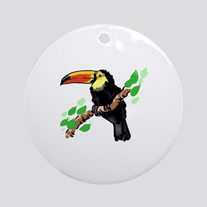 Toucan Ornament (Round)