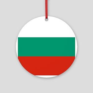 Flag of Bulgaria Ornament (Round)