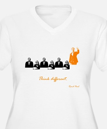 Rand Paul: Think Different Plus Size T-Shirt