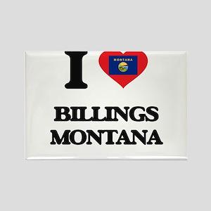 I love Billings Montana Magnets