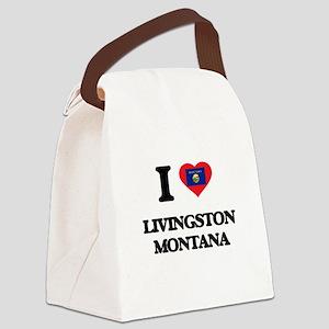 I love Livingston Montana Canvas Lunch Bag