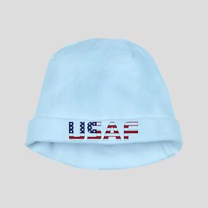 USAF American Flag Baby Hat