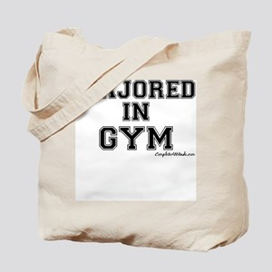 Majored In Gym Tote Bag