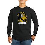 Shakespeare Family Crest Long Sleeve Dark T-Shirt