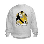 Shakespeare Family Crest Kids Sweatshirt