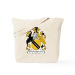 Shakespeare Family Crest Tote Bag