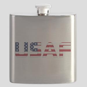 USAF American Flag Flask