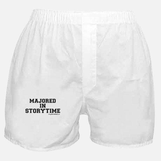 Majored In Storytime Boxer Shorts