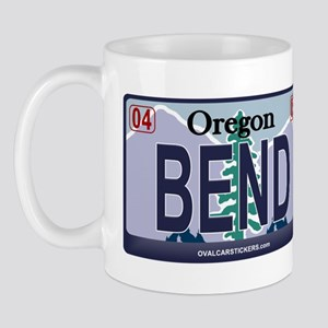 Oregon Plate - BEND Mug