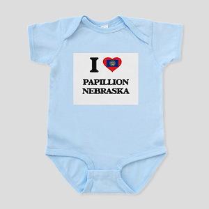 I love Papillion Nebraska Body Suit