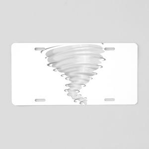 Tornado Alley Aluminum License Plate