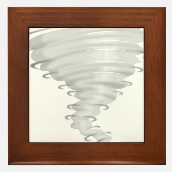 Tornado Alley Framed Tile