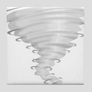 Tornado Alley Tile Coaster