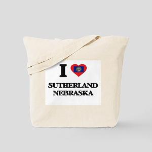 I love Sutherland Nebraska Tote Bag