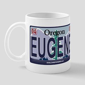 Oregon Plate - EUGENE Mug