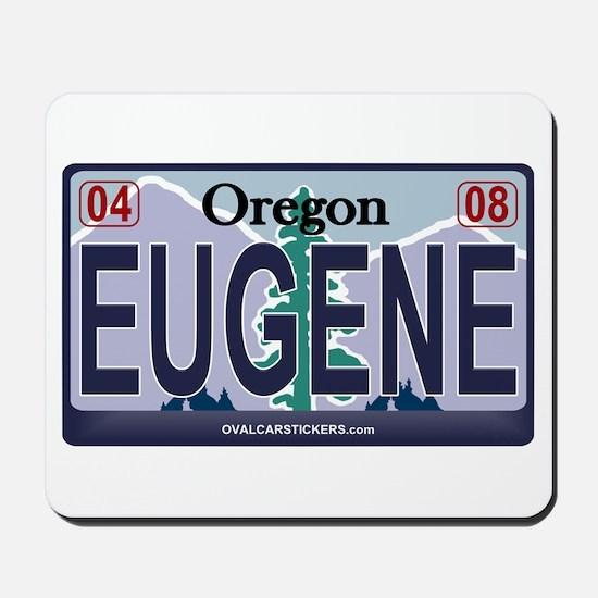 Oregon Plate - EUGENE Mousepad