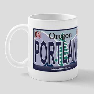 Oregon Plate - PORTLAND Mug