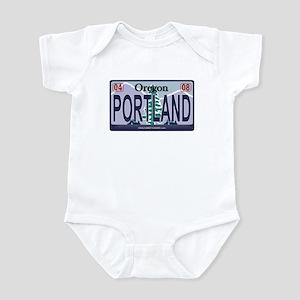 Oregon Plate - PORTLAND Infant Bodysuit