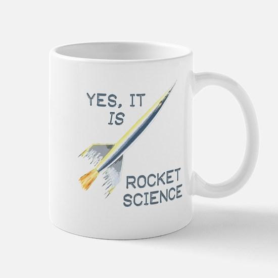It's Rocket Science Mugs
