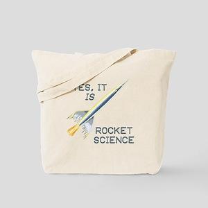 IT'S ROCKET SCIENCE Tote Bag