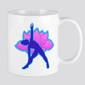 Yoga Triangle w Lotus Mug