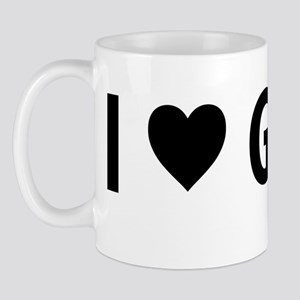 I Love GMOs - White Mug