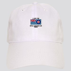 I Love The Royal Canadian Air Force Baseball Cap