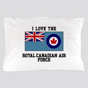 I Love The Royal Canadian Air Force Pillow Case