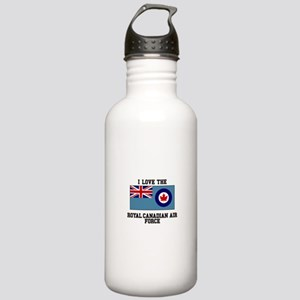 I Love The Royal Canadian Air Force Water Bottle