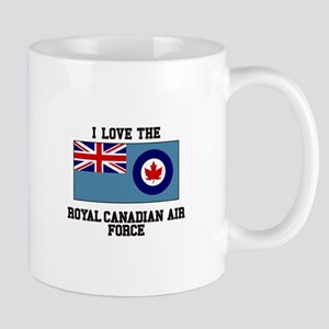 I Love The Royal Canadian Air Force Mugs