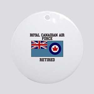 Royal Canadian Air Force Retired Ornament (Round)