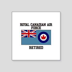 Royal Canadian Air Force Retired Sticker