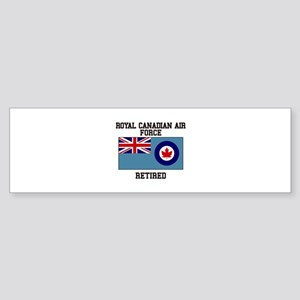 Royal Canadian Air Force Retired Bumper Sticker