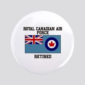 Royal Canadian Air Force Retired Button