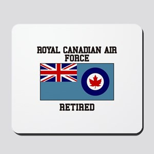 Royal Canadian Air Force Retired Mousepad