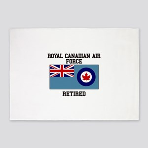 Royal Canadian Air Force Retired 5'x7'Area Rug